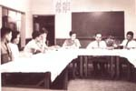 1969 大韓民国馬山JCとの姉妹締結仮調印 例会風景